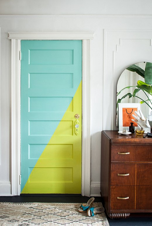 puertas-interiores-color-amarillo-mint